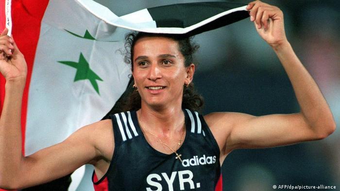 كاتا شوا في دورة الألعاب الأولمبية 1996 في أتلانتا