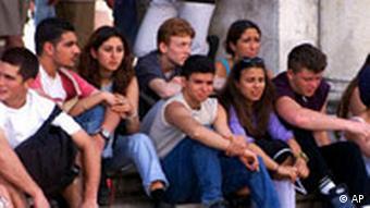 Gruppe von Jugendlichen, Quelle: AP