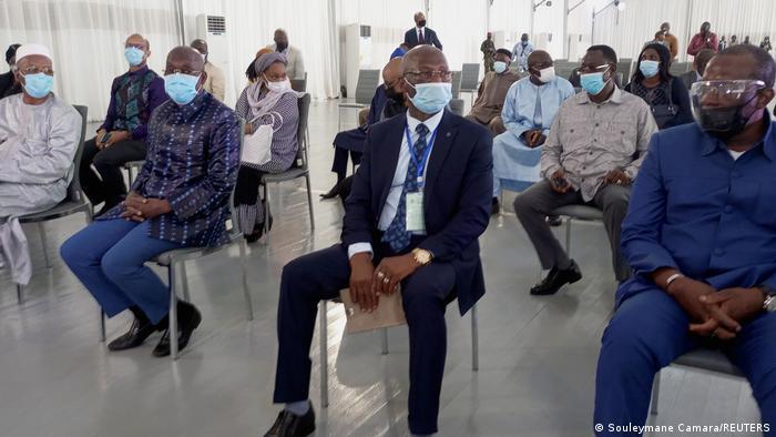 Guinea | Treffen von Regierungsmitgliedern mit Mamady Doumbouya