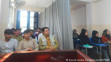 Afghanistan | Trennung von weiblichen und männlichen Studenten an der Universität Kabul