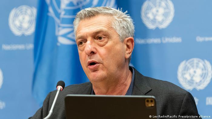 Mkuu wa shirika la Umoja wa Mataifa la kuwahudumia wakimbizi UNHCR Filippo Grandi