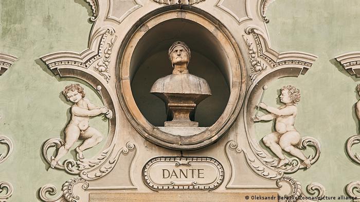 Скульптура Данте