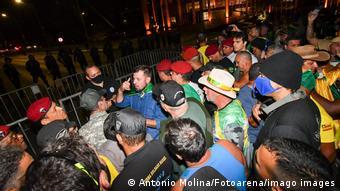 Brasilien Unterstützer von Bolsonaro stiften Unruhe in der Hauptstadt