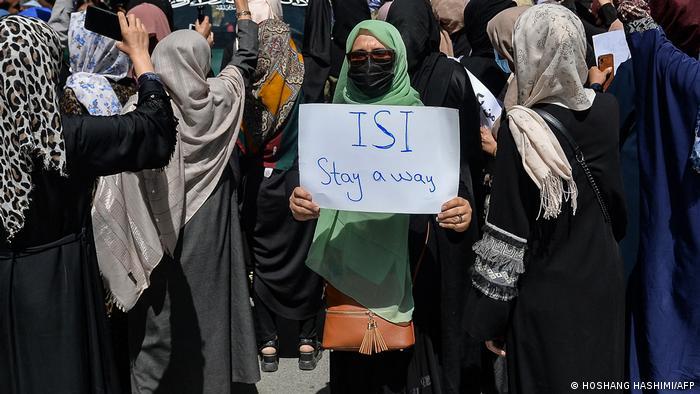 Kabul Demonstration gegen Pakistan