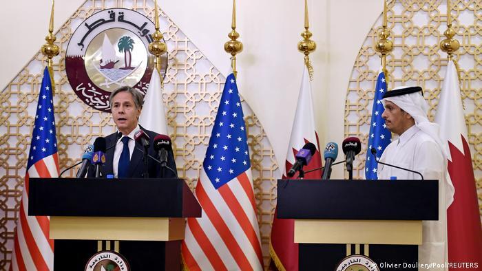 Katar | Die Außenminister der USA und Katars