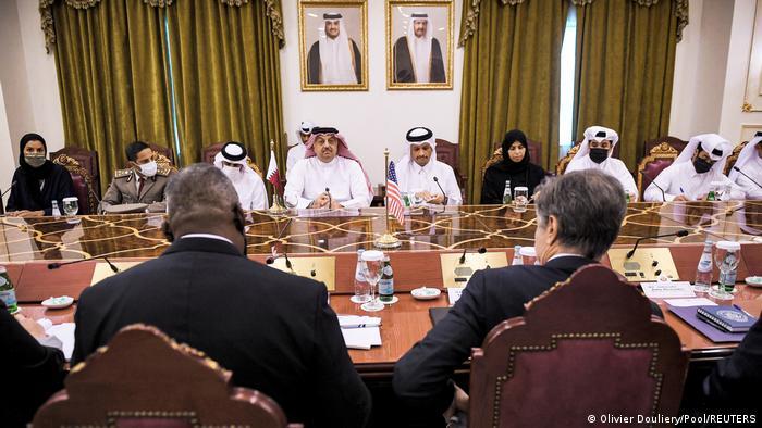 Katar | Außenministertreffen USA-Katar in Doha