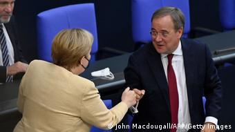 Angela Merkel dhe Armin Laschet