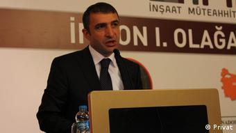 İnşaat Müteahhitleri Konfederasyonu (İMKON) Başkanı Tahir Tellioğlu