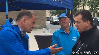 Προεκλογικός αγώνας του Κρουπάλα στη Σαξονία