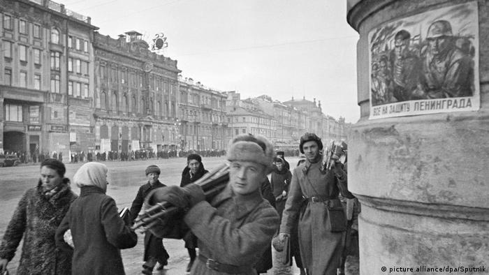 Ленинград в октябре 1941 года