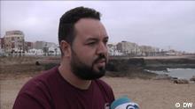 Marokko Rabat | DW Interview: Marokkos enttäuschte Jugend Imad Handour aus Rabat