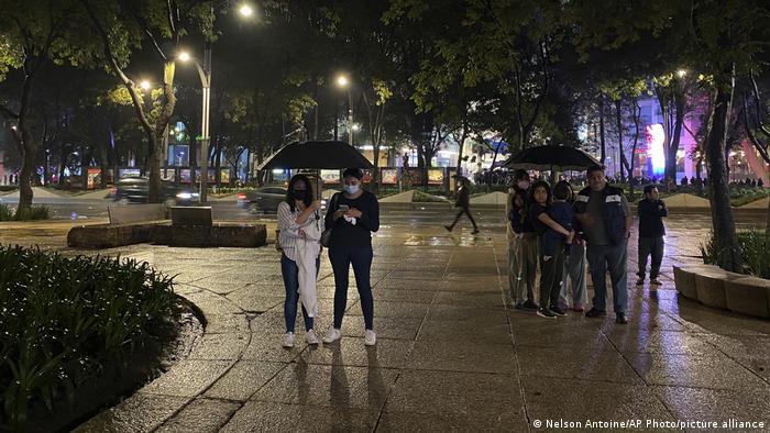 Mexiko   Erdbeben in Mexiko Stadt
