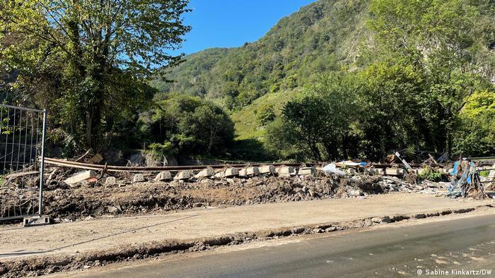 Valea Ahr-ului în septembrie 2021
