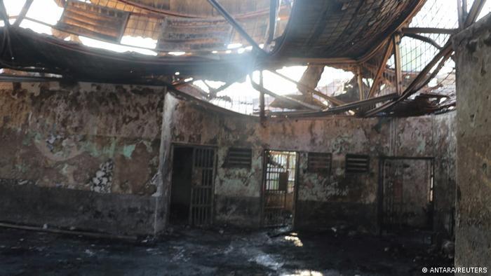 Наслідки пожежі в тюрмі в Тангерангу