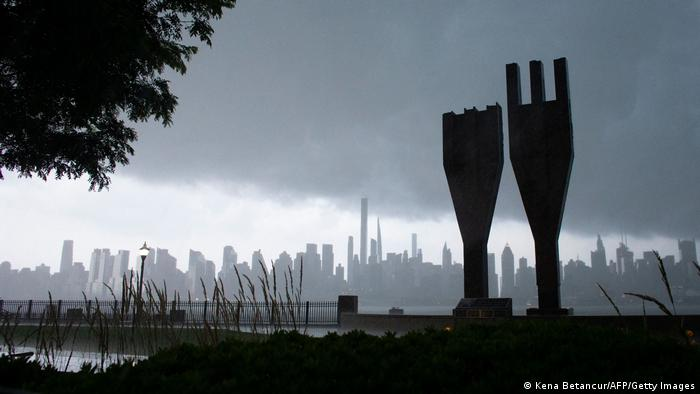 The Hudson Riverfront 9/11 Memorial in New Jersey