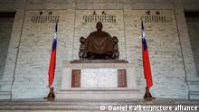 Taiwan: Innenansicht der Chiang-Kai-shek Gedächtnishalle, Taipeh. Foto vom 03. Mai 2016.