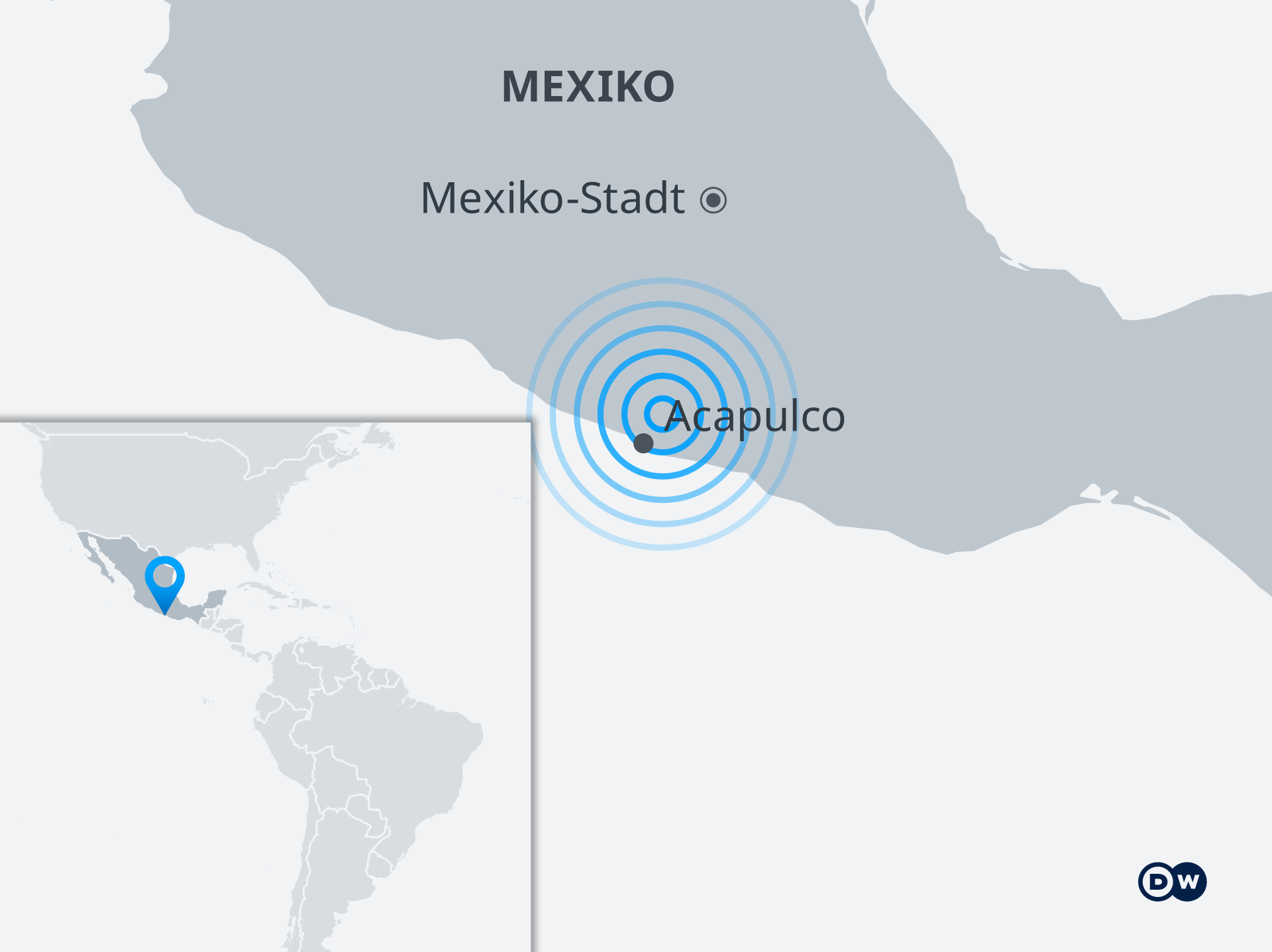 mapa terremoto mexico de