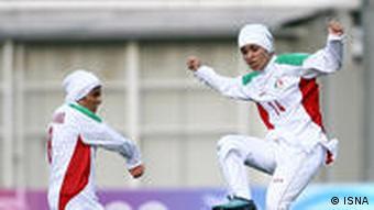 تلاش فوتبالیستان زن ایرانی در مدتی کوتاه پیشرفت قابل را رقم زد