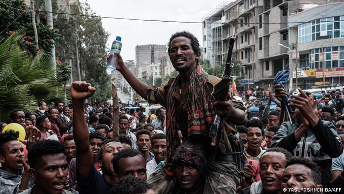 Äthiopien Mekele   Pro-TPLF Rebellen
