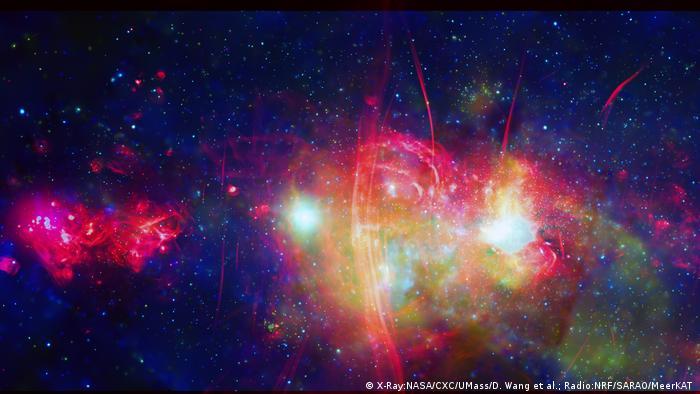 La región central de nuestra galaxia, la Vía Láctea.