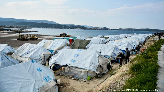 Griechenland Karatepe Refugee Camp