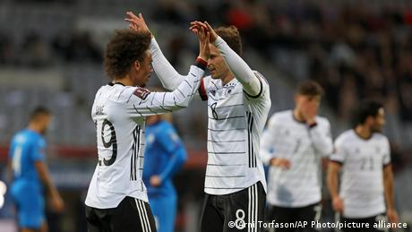 Germany on course for World Cup after win in Iceland