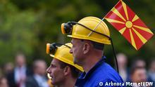 Feier der Unabhängigkeit Nordmazedoniens in Skopje. Skopje, 08.09.2021 Arbnora Memeti