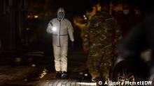 Feuer im Krankenhaus in Tetovo, Nordmazedonien mit mehrere Tote und Verletzte. Tetovo, 08.09.2021 Arbnora Memeti
