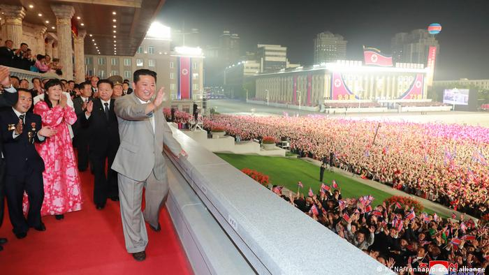 Nordkorea   Militärparade in Pyongyang