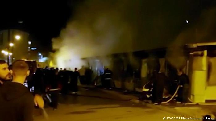 Nord-Mazedonien | Krankenhausbrand