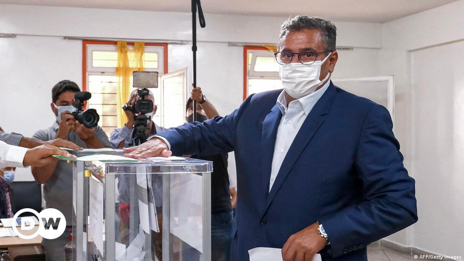 Image Morocco: Moderate parties rout ruling Islamists in elections
