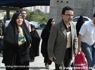 مصطفی  تاجزاده به همراه همسرش