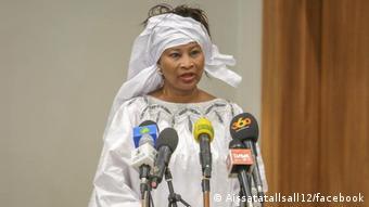 La cheffe de la diplomatie sénégalaise, Aïssata Tall Sall