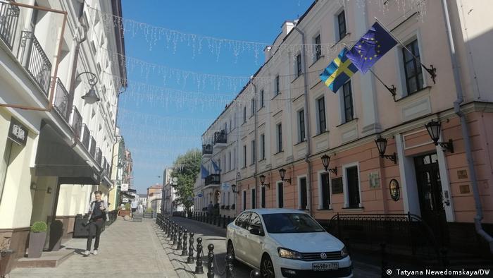 Die Botschaft von Schweden in Minsk, Weißrussland,