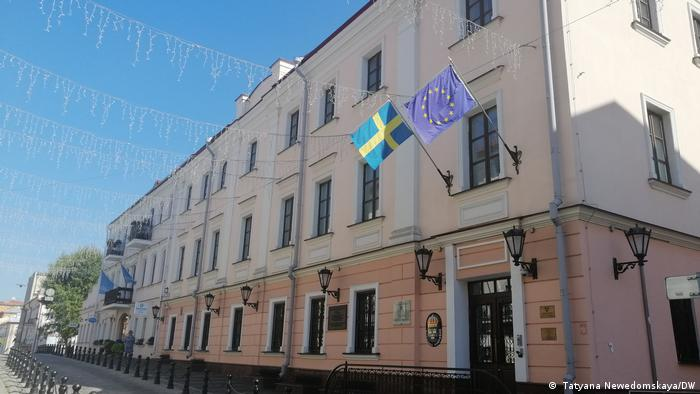 The Swedish embassy in Minsk