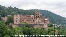 Schloss Heidelberg, Symbolbild, Themenbild, Heidelberg, Tourismus, Sehenswuerdigkeit, GER, 17.07.2021, Foto: Wolfgang Frank/ EIBNER-Pressefoto