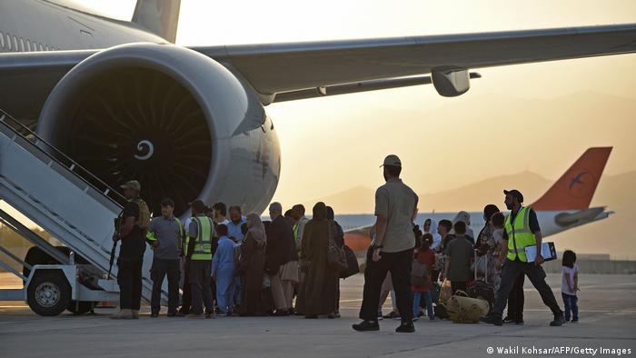 Afghanistan I Evakuierungsflug I Qatar Airline