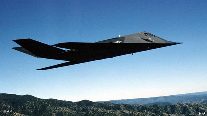 Stealth Fighter Farewell (AP)