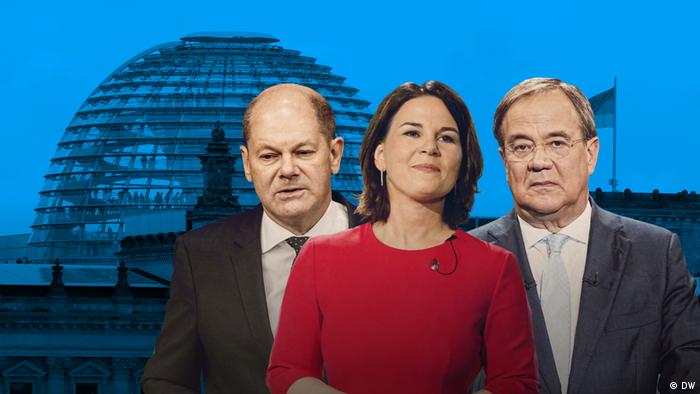در میان سه قوه مقننه، مجریه و قضائیه، پارلمان آلمان (بوندس تاگ) تنها قوهای است که اعضای آن مستقیما از سوی مردم انتخاب میشوند. در پایان انتخابات و تشکیل مجلس، رئیس جمهور نماینده حزب پیروز را به عنوان کاندیدای صدراعظمی و رئیس دولت به پارلمان پیشنهاد میکند. حزب پیروز در صورتی که آرایی زیر ۵۰ درصد داشته باشد میتواند برای بدست گرفتن قدرت با دیگر احزاب ائتلاف کند.