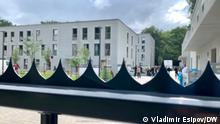 10.09.21*** Bilder zur Geschichte über Asylbewerber aus Moldau in Berlin.