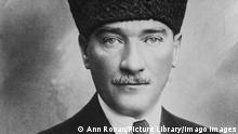 Mustafa Kemal Ataturk Mustafa Kemal Ataturk, Turkish army officer and revolutionary. Founder and first President of the Turkish Republic (1923-1938) NA Mustafa Kemal Ataturk (1881-1938) PUBLICATIONxINxGERxSUIxAUTxONLY Copyright: xPhoto12/AnnxRonanxPicturexLibraryx ARP10A02166