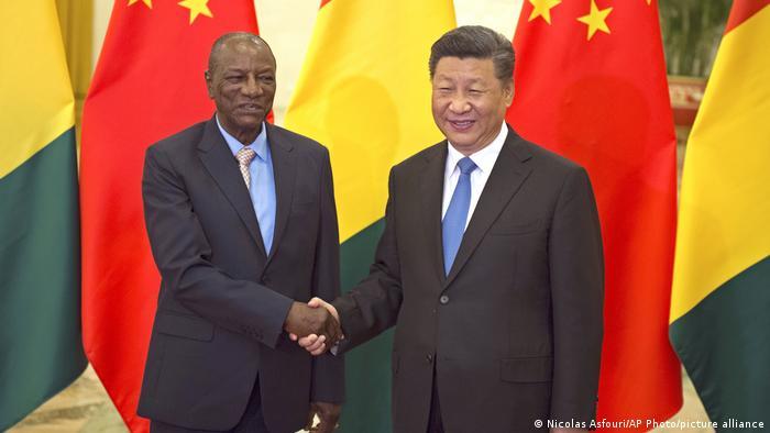 Beijing, China | Alpha Conde trifft Xi Jinping