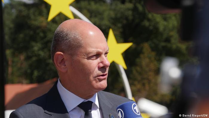 Slowenien |EU-Finanzministertreffen in Brdo | Olaf Scholz