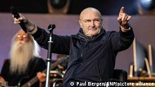 2019-06-20 20:11:29 NIJMEGEN - Phil Collins in het Goffertpark, tijdens zijn Still Not Dead Yet-tour. Collins staat voor het eerst in 14 jaar weer op een Nederlands podium. ANP KIPPA PAUL BERGEN