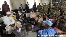ECOWAS-Delegation in Conakry am 10. September 2031. Copyright: Präsidentschaft Guineas.