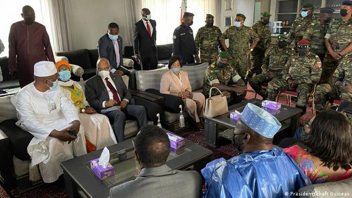 Guinea ECOWAS-Delegation in Conakry