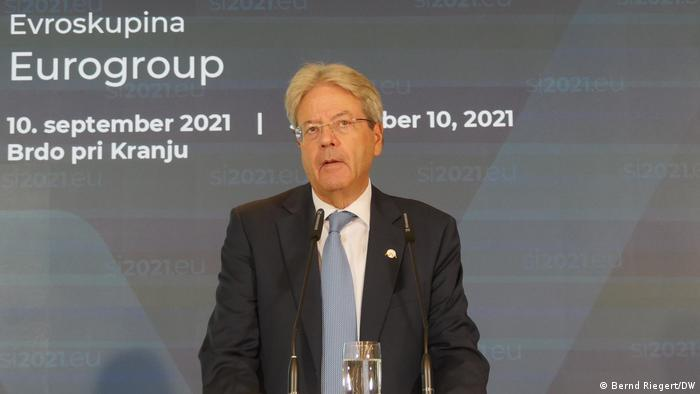 Brdo, Slowenien - EU Finanzministertreffen