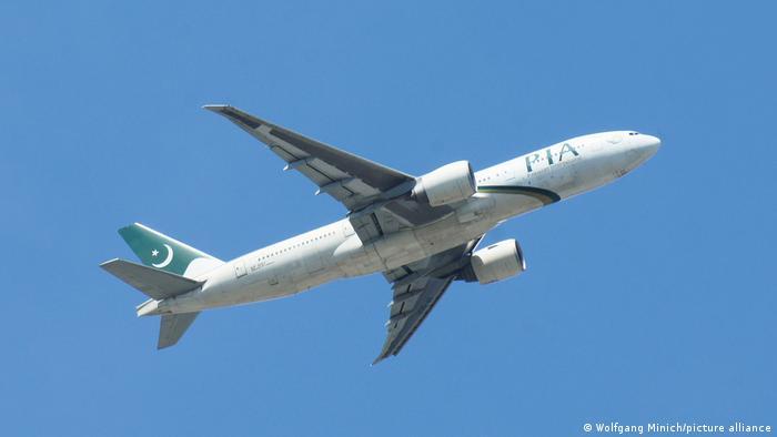 Un avión de PIA.
