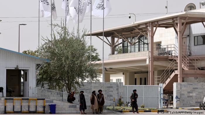 Flughafen Kabul unter Taliban-Kontrolle