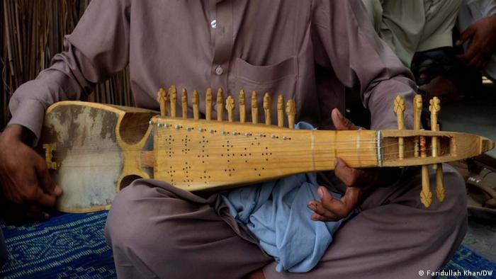 Afghanisches Musikinstrument